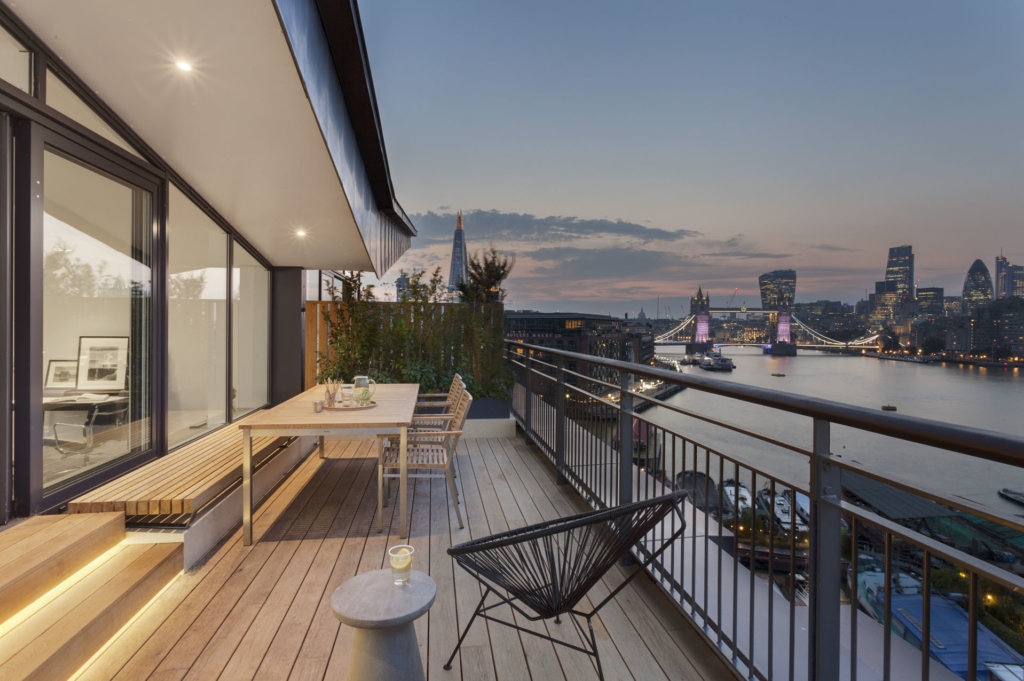 Bermondsey Wall penthouse completed