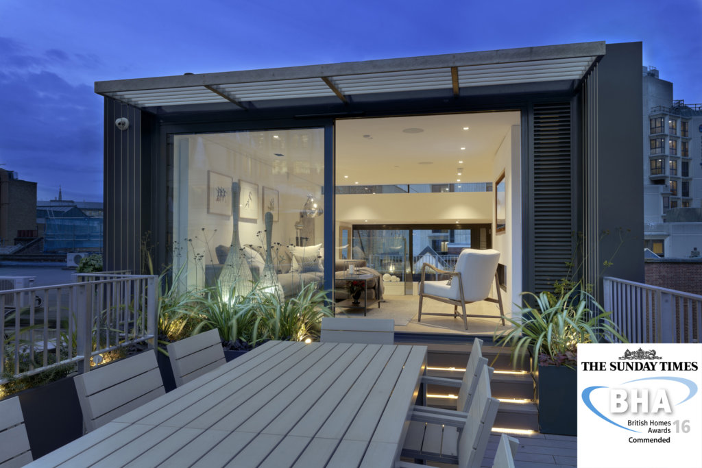 FORMstudio's Narrow House Commended in Sunday Times British Homes Awards