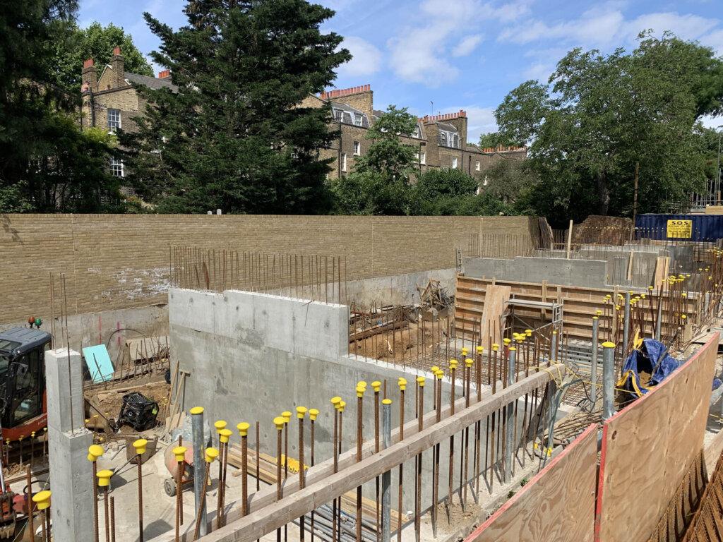 Walcot Square progresses on site
