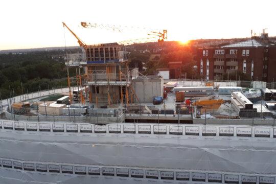 Adastra House Progressing on Site