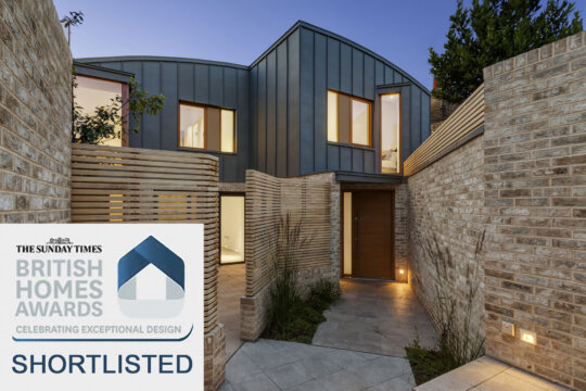 Benbow Yard Courtyard Houses shortlisted for Sunday Times British Homes Award