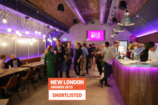 Above The Stag Theatre shortlisted for New London Award