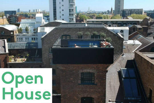Shad Thames Water Tower in Open House London 2019