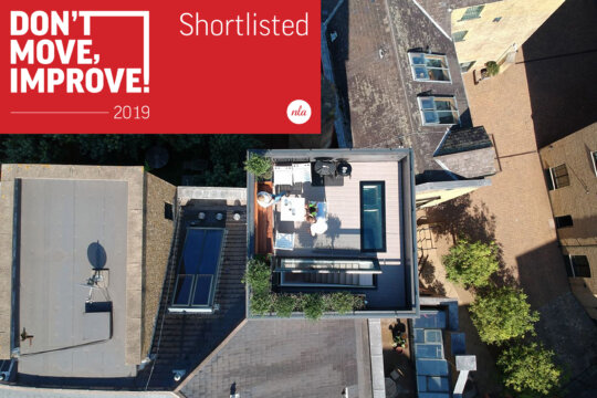 Shad Thames Water Tower shortlisted for NLA Award
