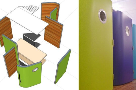 Compact SLEEP-PODS to provide comfortable on-site accommodation for exhausted staff during COVID-19 Crisis